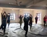रिब्दीकोटमा ३ दिने योग प्रशिक्षण कार्यक्रम सूरु