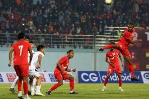 नेपाली फुटवल टोली आज ओमनसंग मैत्रीपूर्ण खेल खेल्दै
