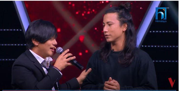 पाल्पाली गायक कुशल भ्वाइस अफ नेपालमा
