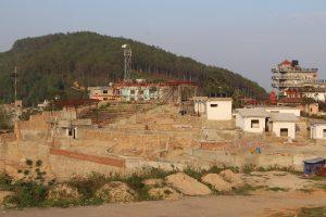 श्रीनगर सास्कृतिक डबली निर्माणको ८० प्रतिशत काम सम्पन्न
