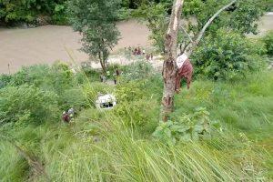 गुल्मीमा जीप दुर्घटना: तीन जनाको मृत्यु