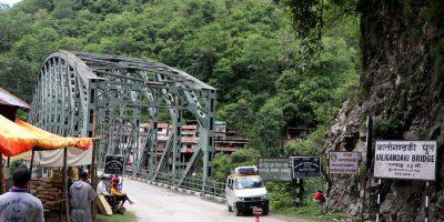 सिद्धार्थ राजमार्गको बर्तुङ्ग-राम्दी खण्ड अवरुद्ध