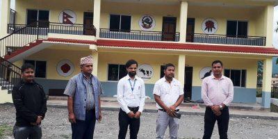 रामपुरको रामतुलसी माध्यामिक बिद्यालयमा मन्टेश्वरी विधिबाट पठनपाठन