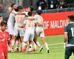साफ च्याम्पियनसिपमा नेपाल भारतसंग ३-०गाेलले पराजित
